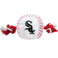 Chicago White Sox Nylon Baseball Rope Tug Dog Toy