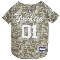 New York Yankees Pet Camo Jersey