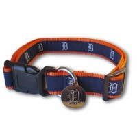 Detroit Tigers Alternate Style Pet Collar
