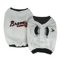 Atlanta Braves Dog Jersey Alternate Design