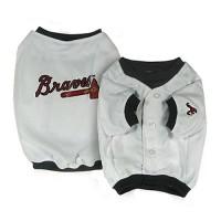 Atlanta Braves Dog Jersey Alternate Design