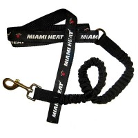 Miami Heat Bungee Ribbon Pet Leash