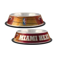 Miami Heat Dog Bowl