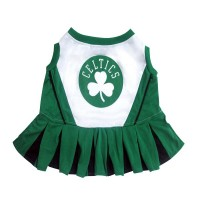 Boston Celtics Cheerleader Dog Dress