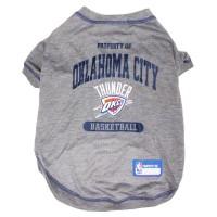 Oklahoma City Thunder Pet T-Shirt #1