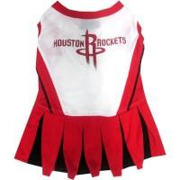 Houston Rockets Cheerleader Pet Dress