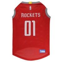 Houston Rockets Pet Mesh Jersey