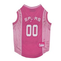 San Antonio Spurs Pink Pet Jersey