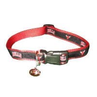 Chicago Bulls Alternate Style Dog Collar
