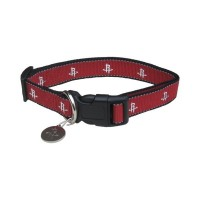 Houston Rockets Reflective Pet Collar