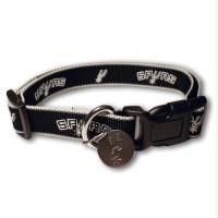San Antonio Spurs Reflective Dog Collar