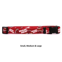 Miami Heat Nylon Pet Collar
