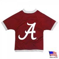 Alabama Crimson Tide Athletic Mesh Pet Jersey