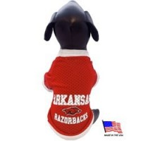 Arkansas Razorbacks Athletic Mesh Pet Jersey