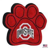 Ohio State Buckeyes Paw Squeak Toy
