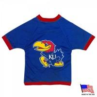 Kansas Jayhawks Athletic Mesh Pet Jersey