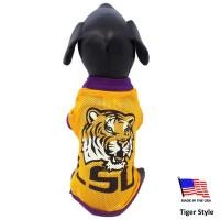 LSU Tigers Athletic Mesh Pet Jersey
