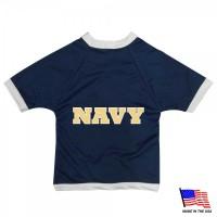 Navy Midshipmen Athletic Mesh Pet Jersey