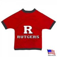 Rutgers Scarlet Knights Athletic Mesh Pet Jersey