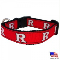 Rutgers Scarlet Knights Pet Collar
