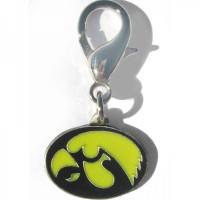 Iowa Hawkeyes Collar Charm