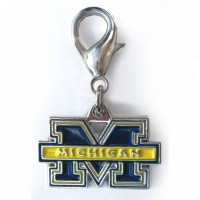 Michigan Wolverines Collar Charm