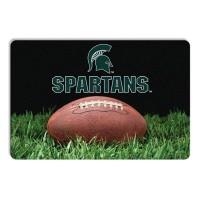 Michigan State Classic Football Pet Bowl Mat