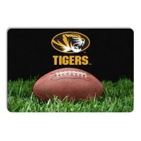 Missouri Tigers Classic Football Pet Bowl Mat