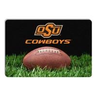 Oklahoma State Classic Football Pet Bowl Mat