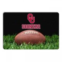 Oklahoma Sooners Classic Football Pet Bowl Mat