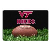 Virginia Tech Classic Football Pet Bowl Mat