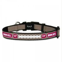 Virginia Tech Hokies Reflective Football Pet Collar