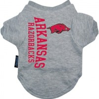 Arkansas Razorbacks Dog Tee Shirt