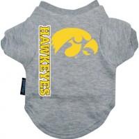 Iowa Hawkeyes Dog Tee Shirt