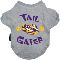 LSU Tigers Tail Gater Pet Tee Shirt