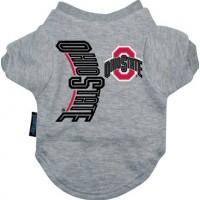 Ohio State Buckeyes Dog Tee Shirt