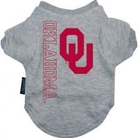 Oklahoma Sooners Dog Tee Shirt