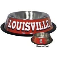 Louisville Cardinals Dog Bowl