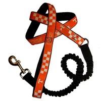 Tennessee Volunteers Bungee Ribbon Pet Leash