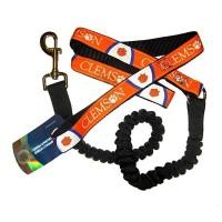 Clemson Tigers Bungee Ribbon Pet Leash