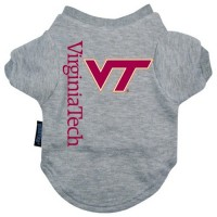 Virginia Tech Hokies Pet Tee Shirt #2