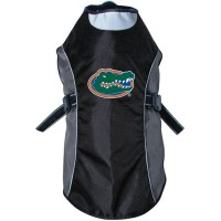 Florida Gators Water Resistant Reflective Pet Jacket