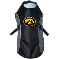 Iowa Hawkeyes Water Resistant Reflective Pet Jacket