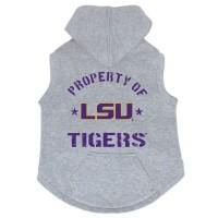 LSU Tigers Pet Hoodie Sweatshirt