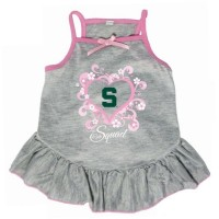 "Michigan State Spartans ""Too Cute Squad"" Pet Dress"