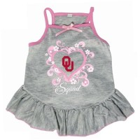 "Oklahoma Sooners ""Too Cute Squad"" Pet Dress"