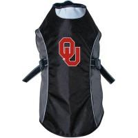 Oklahoma Sooners Water Resistant Reflective Pet Jacket