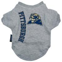 Pittsburgh Panthers Heather Grey Pet T-Shirt