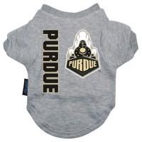 Purdue Boilermakers Heather Grey Pet T-Shirt