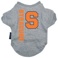 Syracuse Orange Heather Grey Pet T-Shirt